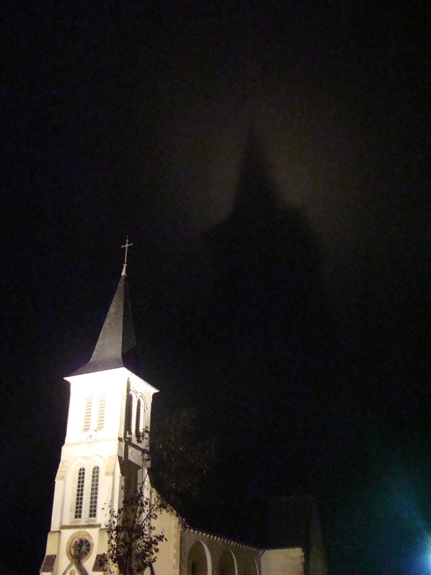 l'église d'Arbouet et son fantôme...